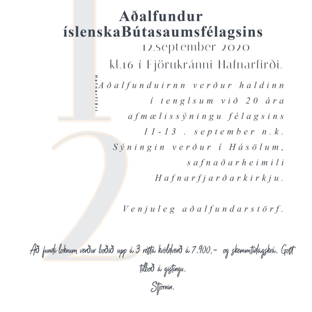 Aðalfundur 12.september